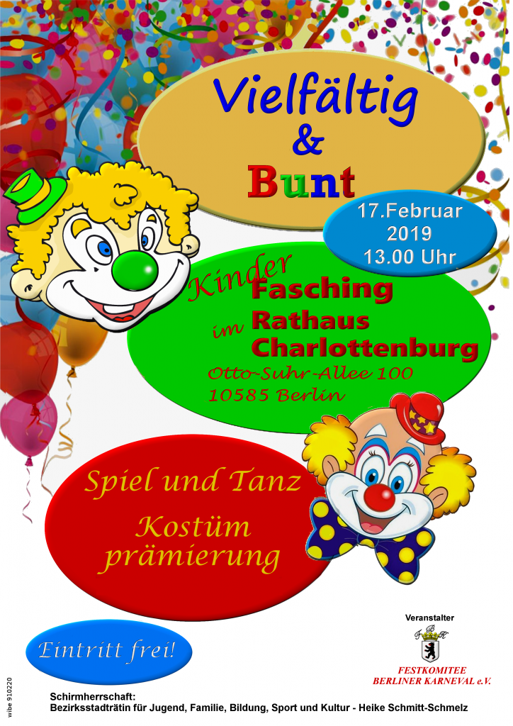 17.02.2019 Kinderfasching bunt