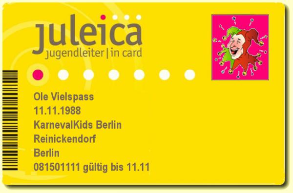 Juleica Card-Werbung